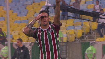 Gol do Fluminense! Luciano recebe belo passe e amplia, aos 37 do 2º tempo