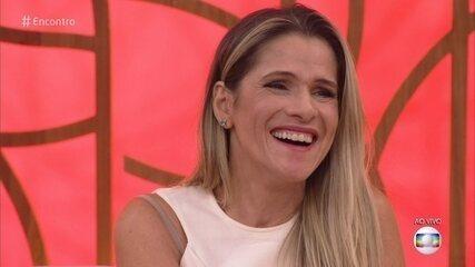 Fátima Bernardes revelou que pensou em parar de trabalhar durante papo com Ingrid Guimarães