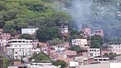 Morador registra tiroteio em Morro do Macaco, no ES