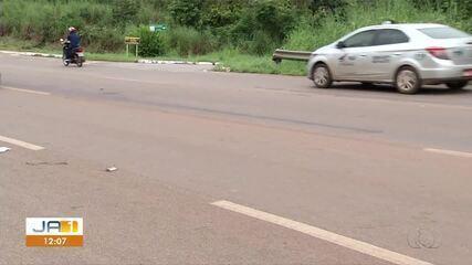 Homem é morto após ser atropelado por carro em alta velocidade em rodovia da TO-050