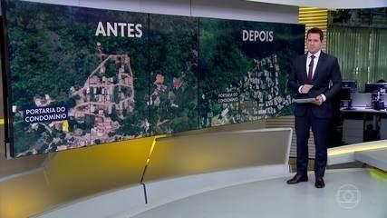 Entenda onde fica a comunidade em que prédios desabaram na Zona Oeste do Rio