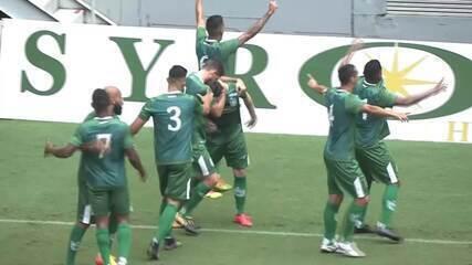 Os gols de Gama 3 x 1 Brasiliense, pelo jogo de ida da final do Candangão 2019