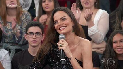 Barbara Fialho anuncia que está grávida