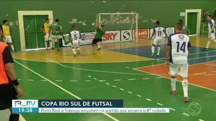 Porto Real busca empate heroico no fim e complica vida de Valença