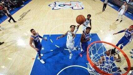 Melhores momentos: Brooklyn Nets 111 x 102 Philadelphia 76ers pela NBA