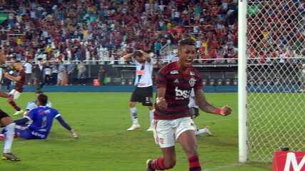 Os gols de Vasco 0 x 2 Flamengo pela final do Campeonato Carioca 2019