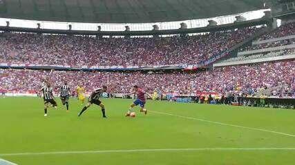 Veja por outro ângulo o 1º gol do Fortaleza contra o Ceará. Edinho abre o placar!