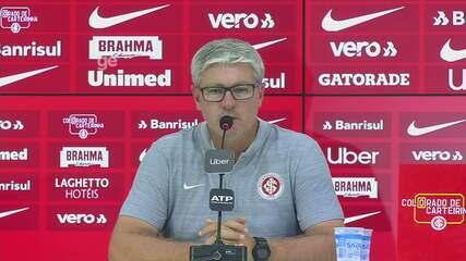 Confira a entrevista coletiva do técnico Odair após o Gre-Nal 419