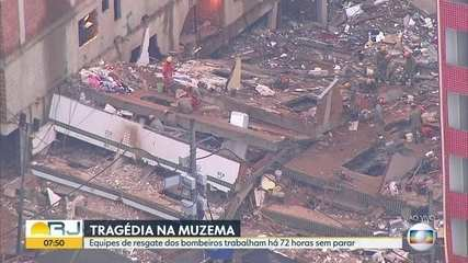 Corpo de mais uma vítima do desabamento na Muzema é identificado