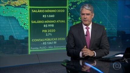 Governo Federal propôs salário mínimo de R$ 1.040 para 2019