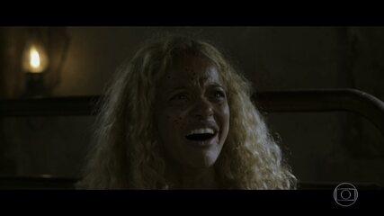 Anita se desespera com morte de médico