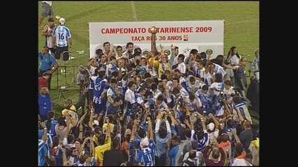 Avaí goleia a Chapecoense e vence o Catarinense de 2009