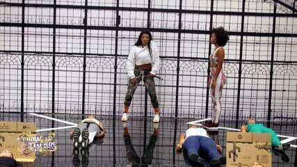 Veja a preparação de Ludmilla para homenagear Michael Jackson no 'Show dos Famosos'