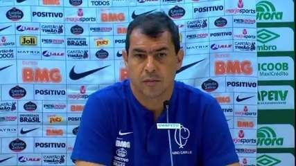 Veja a entrevista de Fábio Carille, do Corinthians, após derrota para a Chapecoense