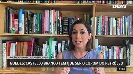 Paulo Guedes: Castello Branco tem que ser o Copom do petróleo