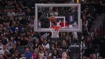 Melhores momentos de Denver Nuggets 117 x 103 San Antonio Spurs pela NBA