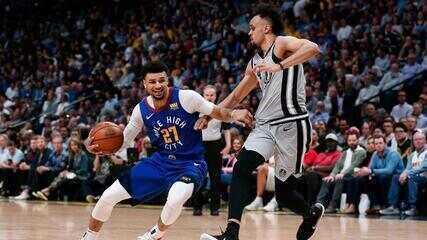 Melhores momentos: San Antonio Spurs 90 x 108 Denver Nuggets, pela NBA