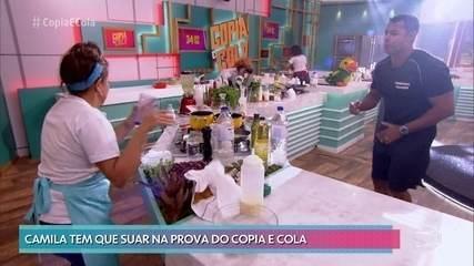 Na Semifinal do 'Copia e Cola', participantes reproduzem prato do chef Félix Sanchez