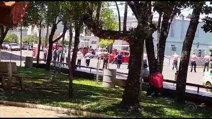 Tiro que matou bancário em assalto a banco em Ibiraiaras partiu de arma de policial