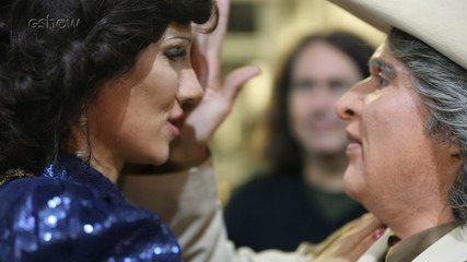 Veja momentos da amizade de Solange e Mel nos bastidores do 'Show dos Famosos'