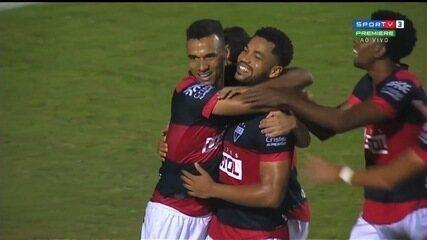 Os gols da vitória do Atlético-GO por 3 a 1 sobre o São Bento