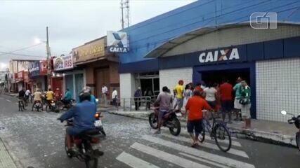 Criminosos explodem agências bancárias em Campo Maior, no Piauí
