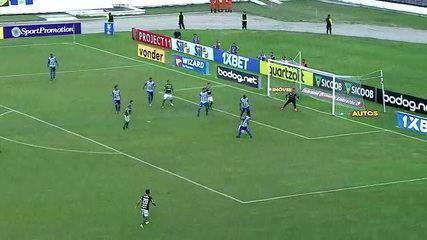 Matheus Sávio fez o gol do CSA no empate contra o Palmeiras