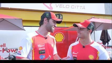 Repórter Voando Baixo: Átila Abreu e Vitor Baptista falam sobre o sábado no VeloCittà (Imagens: Rodrigo Silveira)