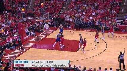 Melhores momentos: Houston Rockets 126 x 121 Golden State Warriors pela NBA