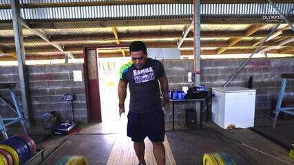 Samoa: paixão pelo levantamento de peso