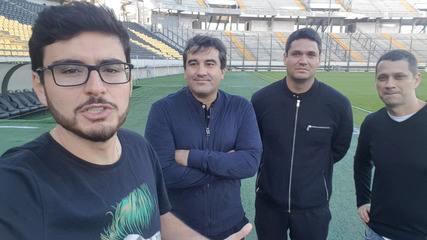 Jornalistas mostram bastidores de estádio em que Flamengo decide futuro na Libertadores