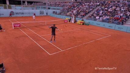 Gael Monfils faz jogada inovadora no Masters 1000 de Madri