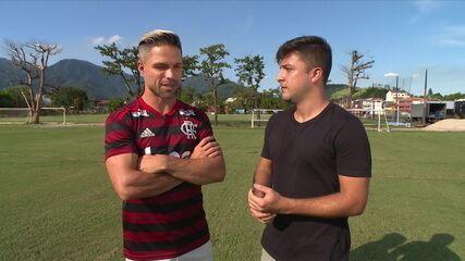 Quintal da Bola - Entrevista com Diego do Flamengo