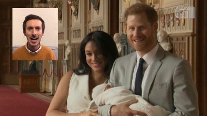 Professor de sotaque britânico ensina pronúncia do nome de Archie, bebê de Meghan e Harry