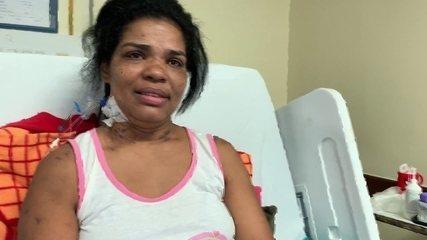 Sobrevivente de desabamento na Muzema está internada há 28 dias com o filho caçula