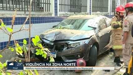 Médica é morta em tentativa de assalto no Maracanã