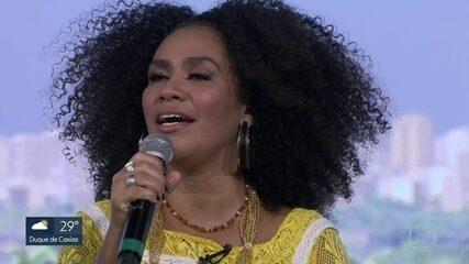Mariene de Castro comemora 20 anos de estrada com show no Circo Voador