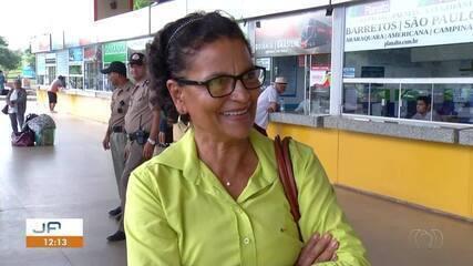 Rodoviária de Palmas fica movimenta na véspera do Dia das Mães