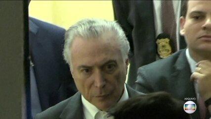 Ex-presidente Michel Temer passa mais uma noite preso na Superintendência da PF