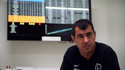 Fábio Carille revela desejo inusitado no Corinthians: ter um macaco