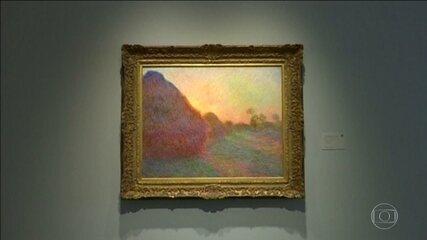 'Meules', de Claude Monet, bate recorde ao ser vendida por US$ 110,7 milhões em NY