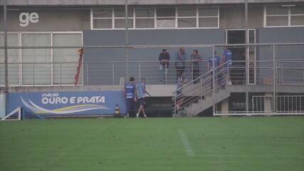 Luan manca e deixa treino do Grêmio nesta quarta-feira (15)