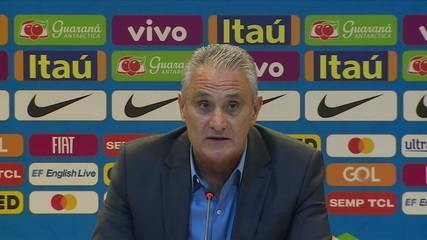 Sem surpresas, tite divulga a lista de convocados para a Copa América no Brasil