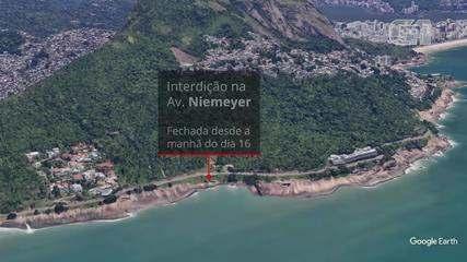 Veja onde estão os pontos de interdições no Rio nesta sexta (17)