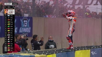 Marc Marquez vence 5ª etapa da MotoGP, em Le Mans, na França