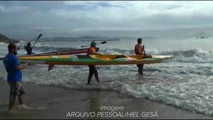 Hiel Gesã e Mayko Lucena conquistam bons resultados em Brasileiro de Canoagem