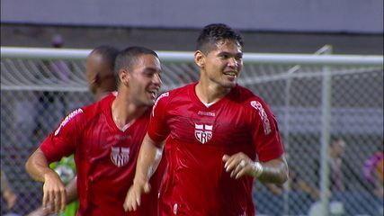 O gol de CRB 1 x 0 Coritiba pela 4ª rodada do Campeonato Brasileiro Série B