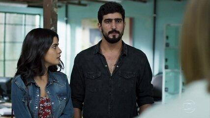 Dalila/Basma encontra Jamil e Laila