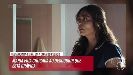 Resumo do dia - 23/05 – Maria da Paz descobre que está grávida