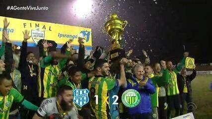Ypiranga é campeão da Divisão de Acesso do Gauchão contra o Esportivo